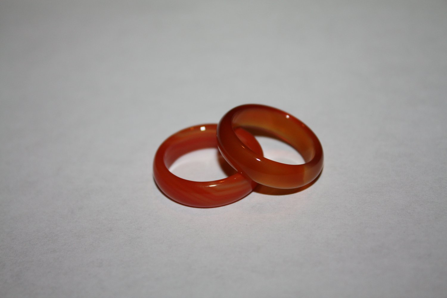 red Agate rings