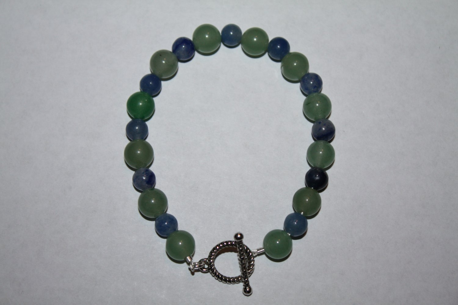 Blue Aventine and Aventine Bracelet