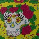 Painted Lady Skull