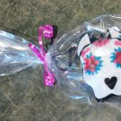 Dia de Los Muertos Pit Bull Ornament Set of 3