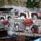 Pop Art Hair Tulle Pillow Case