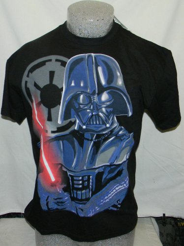 new with tags vintage star wars darth vader medium t SHIRT