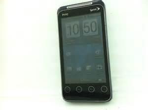 Sprint HTC Evo Shift 4G Droid phone