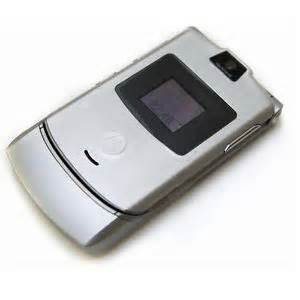 At&t Motorola Razr cell phone