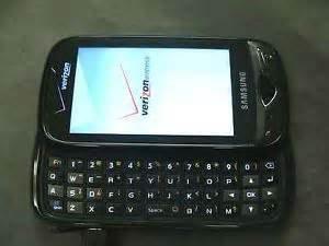 Verizon Samsung Reality phone