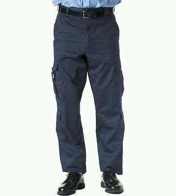 Size 2XL 2XLARGE EMS Uniform Pants Navy Blue Nine Pocket 9 Tactical EMT Medical