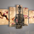 Framed!! Huge Wall Art Home Decoration Buddha Oil Painting on Canvas