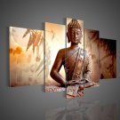 Ready to Hang!! 100% Handmade Buddha Oil Painting on Canvas for Home Decor