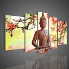 Wall Art Religion Buddha Oil Painting On Canvas Modern Fashion Framed