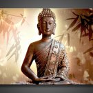 Framed & Stretched and Painted Classical Buddha Oil Painting on Canvas