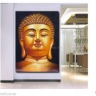 uddha Paintings Canvas God Half Face Painting Religion Art On Canvas Abstract Framed Stretched