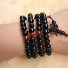 natural lapis lazuli beads Buddha prayer mala stretchy bracelet for Meditation