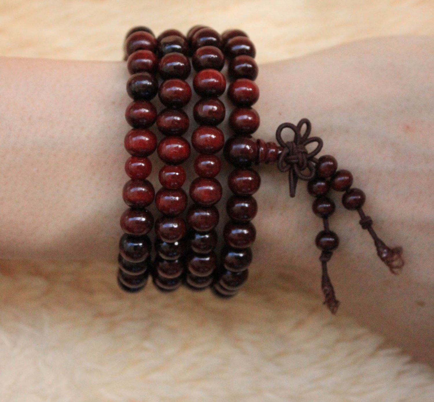 HOT SALE Buddha beads Sandalwood beads 108pcs for fashion free shipping