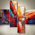 Framed!! Art handmade abstract oil painting on canvas modern 100% handmade original directly