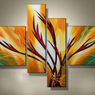 Framed!! High Quality Modern Abstract Oil Painting on Canvas Art Home Decoration
