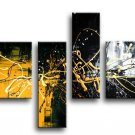 Framed!! 100% hand-painted wall art, abstract oil painting home decoration