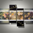 Framed!! Modern Home Decoration Abstract Oil Painting on Canvas High Quality Wall Art