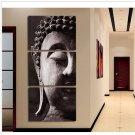 Handmade Zen Buddha Painting on Canvas for Decor No Frame