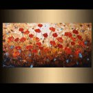 100% handmade abstract wall art home decoration knife oil painting art  No Frame