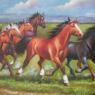 No Frame! Free shipping Huge Animal Horse Hd Prints On Canvas home decor no stetched