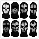 Call of Duty biker SUAVO Ghosts Logan Last Mission Full Face Skull Mask Skateboard Cosplay