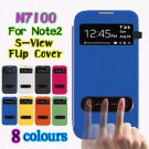 Samsung Galaxy Note 2 N7100 S View Flip Case Cover Housing