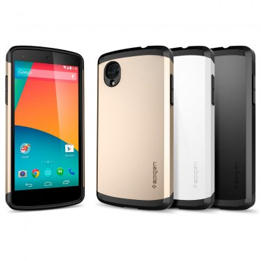 LG Nexus 5 SGP Slim Armor Phone Case N5 E980 D820 Cover