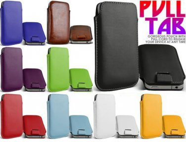 Lenovo Luxury Leather Pull Tab Smartphone Case Cover