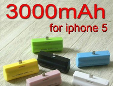 iPhone 5 5G 5S External Backup LiPo Battery Phone Charger Juice Pack Case