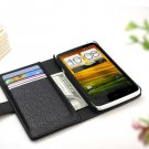 HTC ONE 1 X G23 S720e Leather Wallet Smart Cell Phone Case Cover