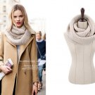 Hot Style Unisex Winter Shawls Scarves Ring Neck Collar Warmer