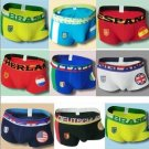 Lot 2 World Cup 2014 Football Soccer National Country Flag Boxers Underwear Briefs