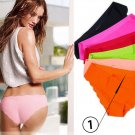 Lot 3 Seamless Ultra-thin Ladies Underwear Panties Traceless