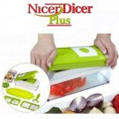 Nicer Vegetable Dicer Slicer Plus Cutter Chopper Grater