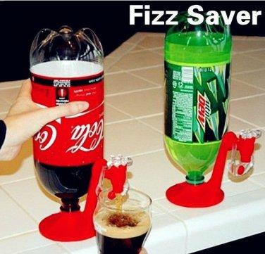 Soda Soft Drink Beverage Dispenser Coke POP FIZZ SAVER Pepsi