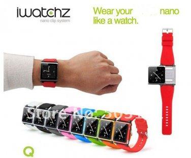 iPod Nano 6 Wristwatch Band Strap Kit Set MP3 Watches Accessory