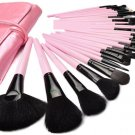Pink Makeup Brush 32pcs Set Cosmetic Make Up Tools