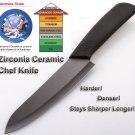 "Zirconia Ceramic Chef Knife 6"" (15cm Blade) Kitchen Knives"