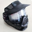 Paintball Tactical Military Full Face Mask Neck Guard Goggles Airsoft Dirt Bike Helmet Visor