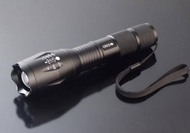 Ultra Fire E17 CREE XM-LT6 Flashlight 2000 Lumens Adjustable Zoom LED Spotlight Light Lantern