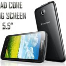 "Big Unlocked 5.5"" Touchscreen Mobile Lenovo A850 Quad Core Smart phone Cell"