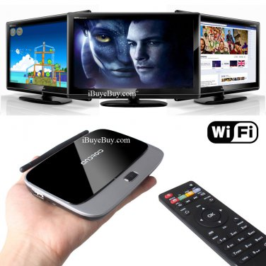 Quad Core HD TV Q-Box 4.2 Free TV Shows Movies