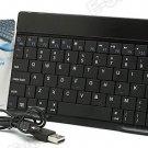 Bluetooth Keyboard for iPad 2,3,4 iPad Mini, Galaxy Tablets