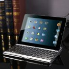 Ultra Thin Aluminum Wireless Bluetooth Keyboard Stand Case Cover Dock for iPad 2 3rd 4 Gen