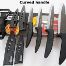 5pc Ceramic Knife Set Kitchen Chef Knives Peeler Sheaths