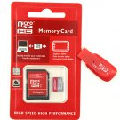 Lot 10 8GB Micro TF SD Memory Cards + SD Adapter+ Reader