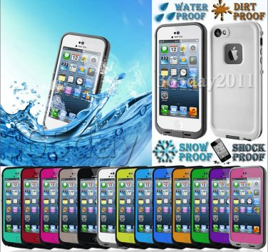 iPhone 5 5s Waterproof Life Proof Phone Case Cover Protector