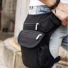 Tactical Leg Bag Shoulder Pouch Fanny Pack Molle Waist Ammo Bag