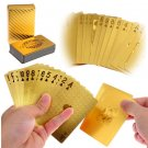 24K Gold Plated Poker Playing Cards Game Cards