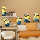 DESPICABLE ME 2 MINIONS Wall Stickers Vinyl Art Decals Kids Room Decor Removable